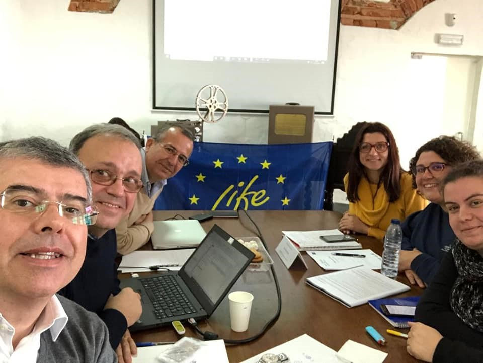 Coordination of LIFE RIBERMINE visits the Centro Ciência Viva do Lousal (Portugal) – January 15th 2020