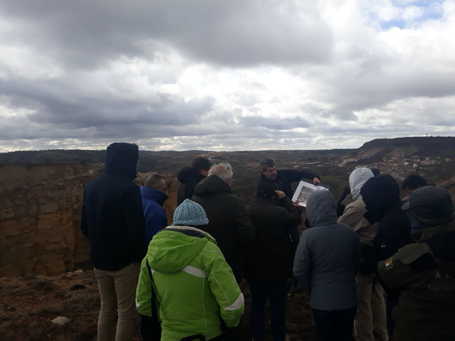Field trip to the intervention areas of the LIFE RIBERMINE project in Alto Tajo (Peñalén, Spain) – March 6th 2020