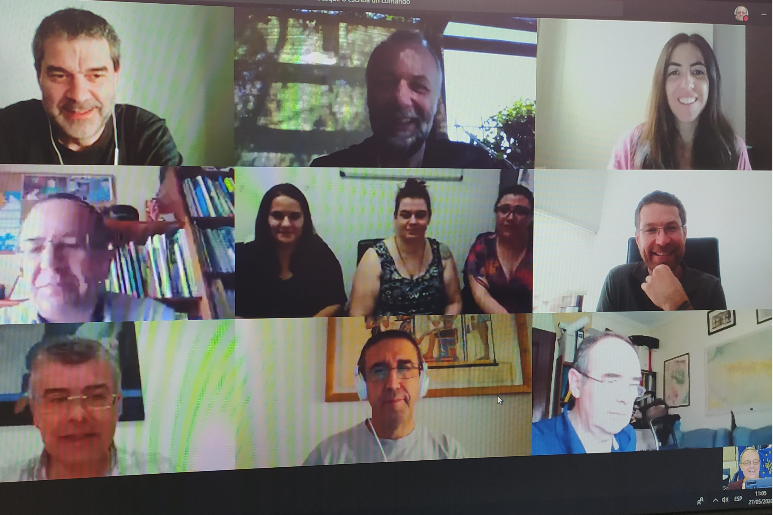Holding of the second Coordination meeting of the LIFE RIBERMINE project – May 27th 2020