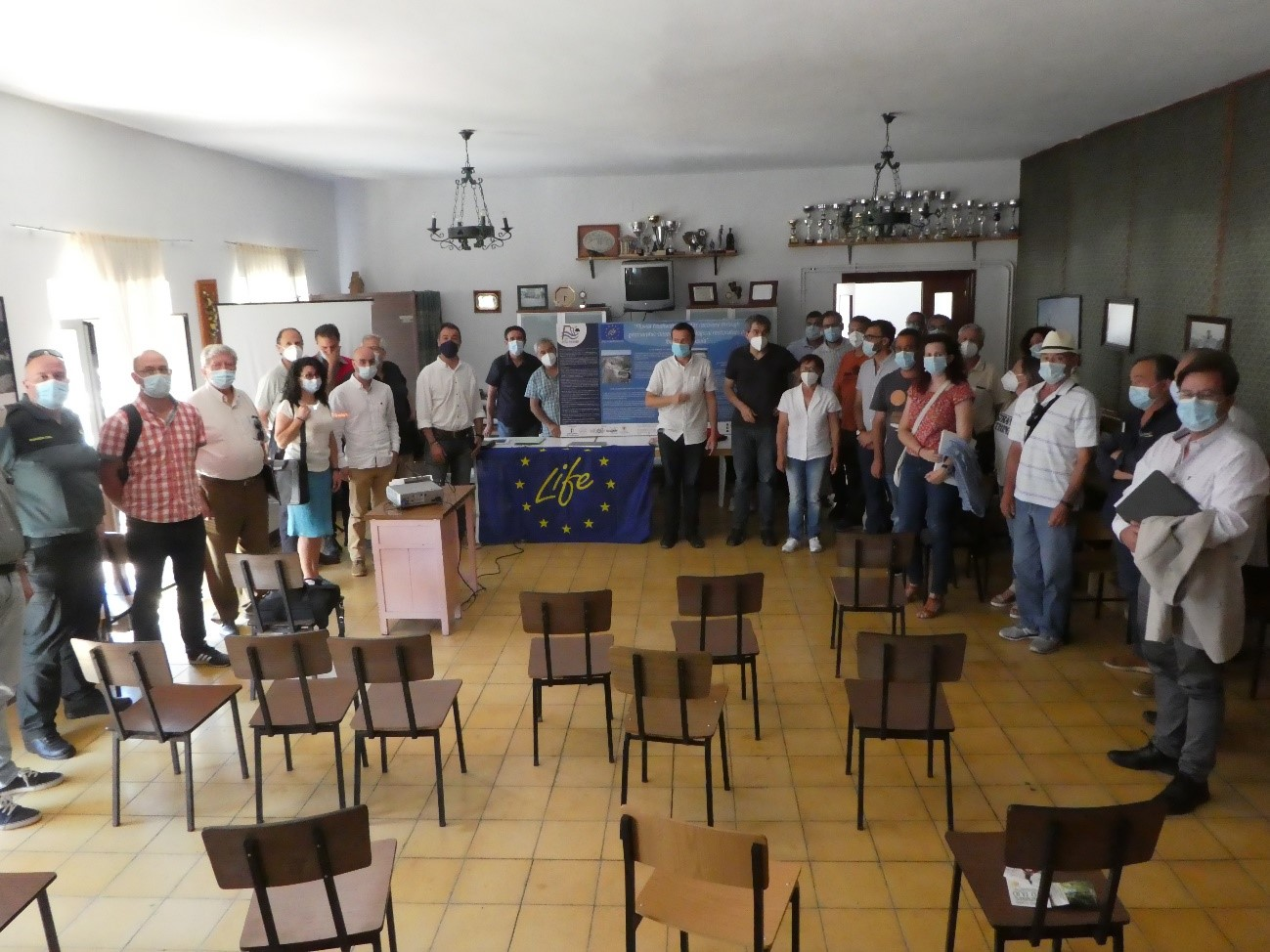 "Presentation of the LIFE RIBERMINE Project to the Governing Board of the ""Parque Natural del Alto Tajo"" – june 29th 2020"