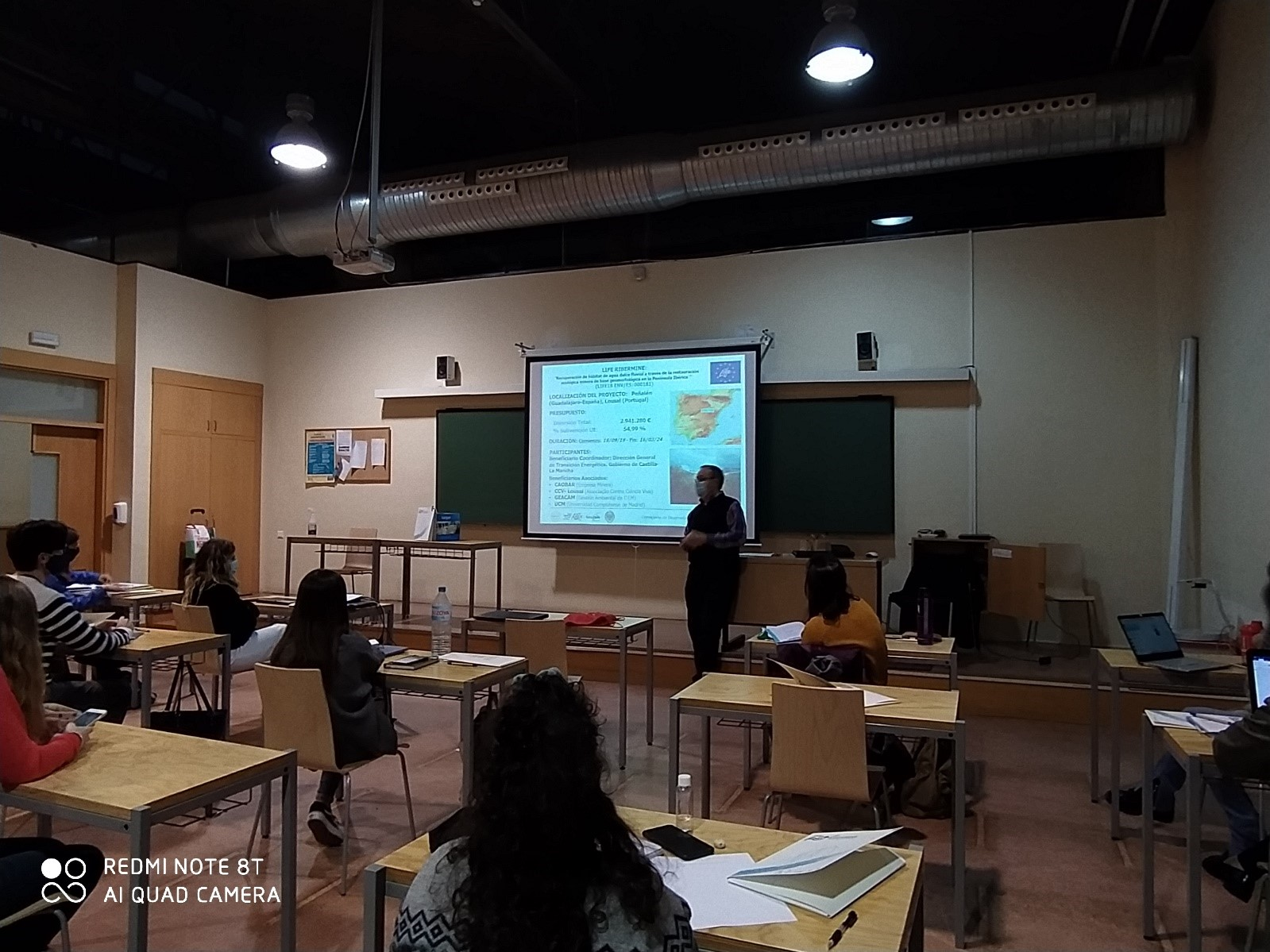 LIFE RIBERMINE integrates Curriculum of Master at the University of Castilla-La Mancha